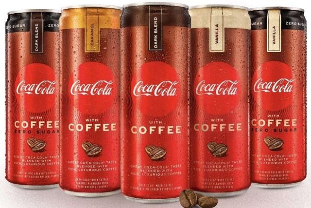 코카 콜라와 커피가 합체한 신상품 판매 중.jpg